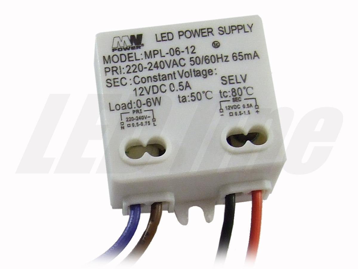 6W LED Netzteil, LED Trafo 12V für LED strips LED leiste, IP65